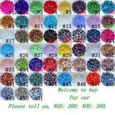 Free shipping 1000 PCS swarovski crystal 4 mm 5301 Bicone Beads #6