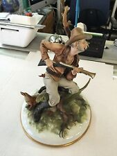 TYCHE TOS LARGE CAPODIMONTE FIGURINE THE HUNTER