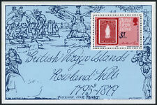 Virgin Islands 363 S/S, MNH. Sir Rowland Hill. Stamp on Stamp, 1979