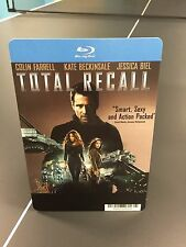 "Movie Backer Card ""Total Recall"" Bluray (No Movie) *Mini Poster*"