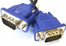 3 metros 15 pines macho a macho Cable del monitor para PC/Laptop VGA SVGA Lead 3M