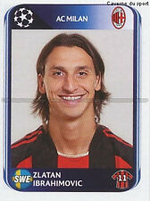 N°429 IBRAHIMOVIC # SWEDEN AC.MILAN UEFA CHAMPIONS LEAGUE 2011 STICKER PANINI
