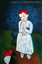 """""""Child Holding A Dove""""  Picasso, Reproduction"""