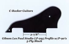 Les Paul LP-295 Profile 5-Ply Blk Pickguard W/P-90's for Gibson Epiphone Project