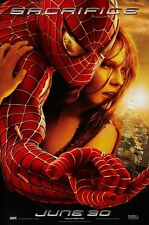 """Spiderman 2 movie poster Tobey Maguire poster 11"""" x 17"""" (e) Spiderman poster"""