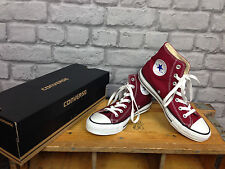 CONVERSE UNISEX UK 3 CT ALL STAR HI TOPS BURGUNDY MAROON RRP £48