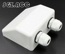 Waterproof double cable entry gland,cable box for solar panels/caravans/boats