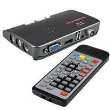 Digital 1080P VGA DVB-T2 TV Box AV CVBS Tuner Receiver With Remote Control