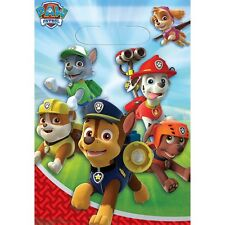 Party Supplies Birthday Decorations Boys Paw Patrol Loot Bags Pack of 8