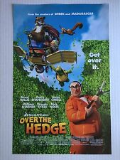 "OVER THE HEDGE THEATRICAL MINI MOVIE POSTER 11""X17"" AUTHENTIC COMIC ANIMATED"