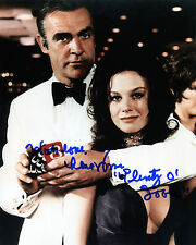 Lana Wood - Plenty O'Toole - Diamonds Are Forever - Signed Autograph REPRINT