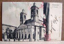 Camerino - il Duomo [piccola, b/n, viaggiata]