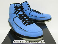 2010 NIKE AIR JORDAN 2 II RETRO Candy Pack university blue 395709-701 sz 11
