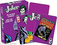 Joker Classic Art Playing Cards DC Comics Batman Retro 52302 New Sealed Mint