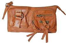 Rip Curl BALIWOOD CLUTCH Womens GENUINE LEATHER Travel Wallet Purse New - Tan