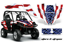 CanAm BRP COMMANDER Graphic Kit Wrap AMR Racing Decal Parts Accessories S&Stripe