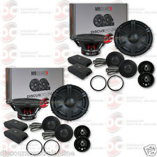 "4 x BRAND NEW MB QUART 6.5-INCH 6-1/2"" CAR AUDIO 2-WAY COMPONENT SPEAKERS"