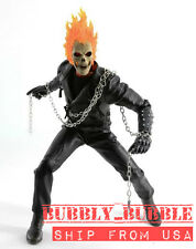 1/6 Ghost Rider Nicolas Cage Figure LED Light Function Custom Hot Toys ☆USA☆