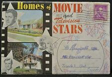 HOMES OF MOVIE & TELEVISION STARS Folder-Monroe-Liberace-Groucho Marx-K.Douglas