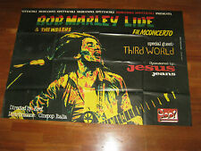 manifesto,1978, BOB MARLEY E THE WAILERS FILM CONCERTO JESUS THIRD WORLD,KEEF,
