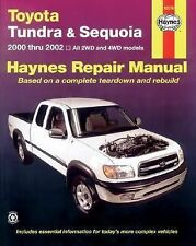 Toyota Tundra and Sequoia 2000 Thru 2002: Hy Repair Manual (Haynes Man-ExLibrary