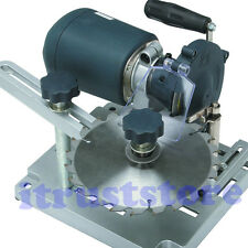 PORTABLE CIRCULAR SAW BLADE SHARPENING MACHINE SHARPENER W DIAMOND & EMERY WHEEL