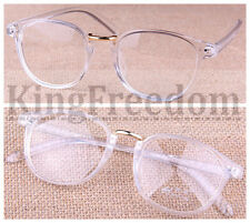 Hot Sale Transparent Eyeglass Frame Clear Glasses Full Rim Retro Spectacles Rx