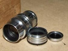 Vintage Elitar 1 1/2 inch F : 2.5 8MM Movie Lens Model No 1104