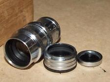 Vintage Elitar 1 1/2 inch F : 2.5 8MM Movie Lens Model No 1104