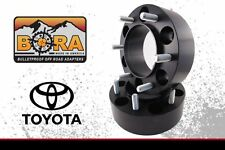 "Toyota Tundra 2007-2015 Wheel Spacers (4) 1.75"" Thick by ""Bora"" Made In USA"