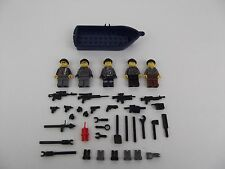 LEGO MILITARY Minifigs lot of 5 Minifigures Army Special Forces Guns Navy L663