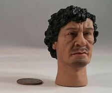 head play Gaddafi head sculpt 1/6 scale