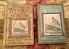 1912 HENRY FREDERICKS LOGAN MARSHALL TRAGIC STORY SINK TITANIC WHITE STAR LINE ~