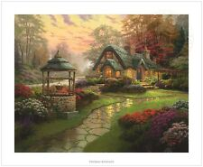 Thomas Kinkade Make a Wish Cottage – 20x24 S/N Limited Edition Paper