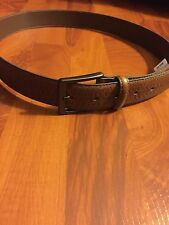 TOMMY BAHAMA MEN'S GENIUNE LEATHER BELT BROWN SIZE 36 STYLE 1102TMF9