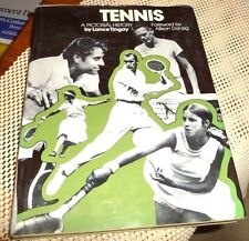 TENNIS PICTORIAL HISTORY BY TINGAY 1973 FIRST RESULTS OF DIFFERENT TOURNAMENTS