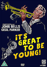 It's Great To Be Young JOHN MILLS CECIL PARKER (UK RELEASE) DVD