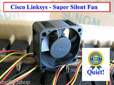 Quiet! Cisco Linksys SRW2016 Replacement Fan, only 12dBA Noise Sunon MagLev