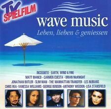 Leben, Lieben & Geniessen WAVE MUSIC Chill Chillout Lounge Smooth Jazz 2CD