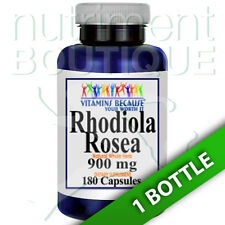 Rhodiola Rosea 900mg 180 Capsules by Vitamins Because