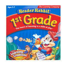 Educational PC games for kids, Reader Rabbit, learn Reading,Adding,Subtracting,