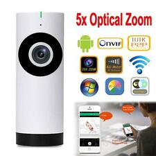 Wireless PTZ CCTV Network WiFi Indoor 720P HD IP  Security Camera  Night Vision
