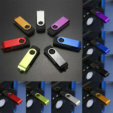 64GB Swivel USB 2.0 Metal Flash Memory Speicherstick Storage Thumb USB-Sticks