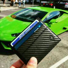 Real Carbon Fiber wallet Card holder