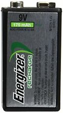 4 Pack Energizer 9 Volt Rechargeable NiMH Battery 175mAh NH22NBP 8.4V Each