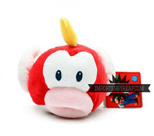 SUPER MARIO BROS. PESCE SMACK PELUCHE plush fish Cheep Pukupuku pupazzo new doll