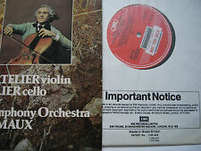 EMI ASD 3209 LALO CELLO CTO TORTELIER FREMAUX EARLY FACTORY SAMPLE MINT VINYL