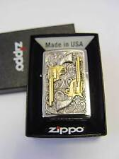 Zippo ®  Golden revolver limited Edition Vol. 3 fein gold Neu/New OVP