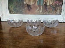 ABP American Brilliant Period Strawberry Diamond & Fan Finger Bowls 4