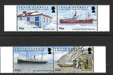 S.GEORGIA&S.SANDWICH SG483/6 2009 CENTENARY OF SOUTH GEORGIA POST OFFICE   MNH